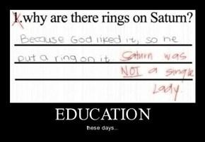 So...Saturn IS Married