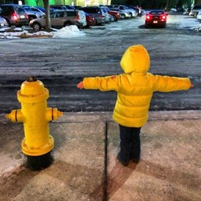 Look, Mom, I'm a Fire Hydrant!