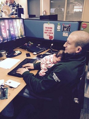 Take Your Baby to Work Day is a Success!