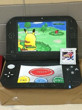Playing Pokémon on a 3DS XXXL