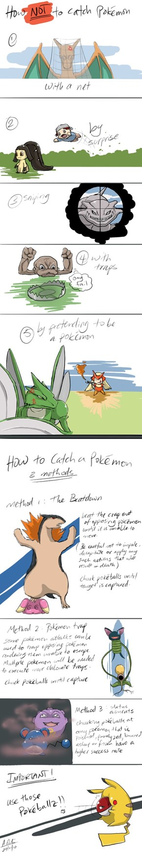Pokémon Catching 101