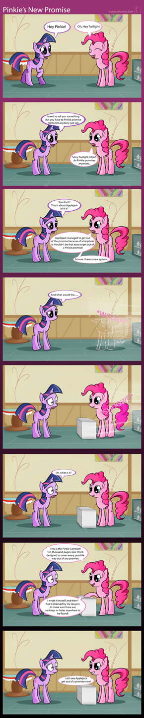 Pinkie's New and Improved System