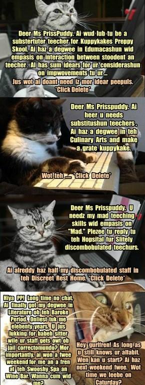 KKPS - The Hunt for Substitute Teachers