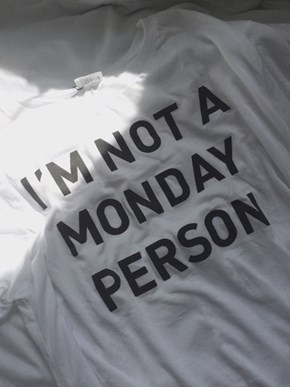 The New Monday Uniform