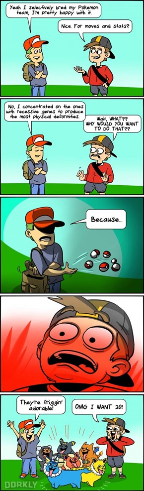 The Effects of Selective Pokemon Breeding