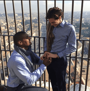 Former St. Louis Rams Player Michael Sam Announces His Engagement in This Great Photo on Instagram