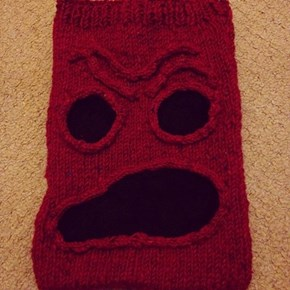 Knit Your Kindle Into The Necronomicon