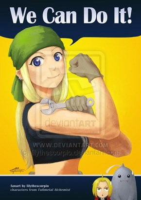 Well, Winry Can at Least