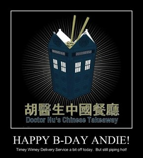 HAPPY B-DAY ANDIE!