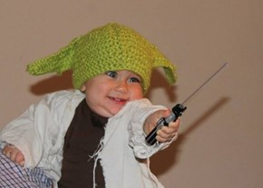 BRB, Have to Make All the Babies Yoda Hats