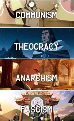 Korra Villains & Their Ideologies