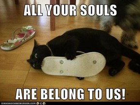ALL YOUR SOULS  ARE BELONG TO US!