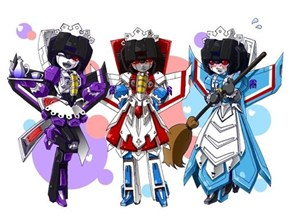 Maid On Cybertron
