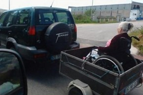 Grandma Always Wanted a Motorized Wheelchair!