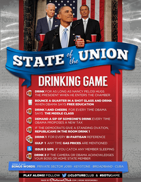 The State of the Union Drinking Game!