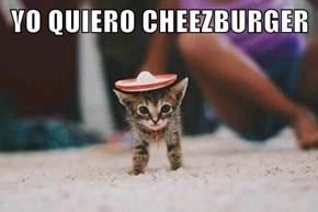 YO QUIERO CHEEZBURGER