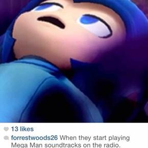 Dat Feel When Mega Man Music