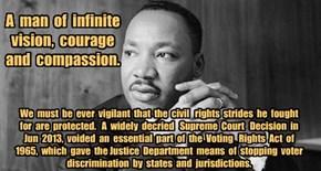 Martin Luther King, Jr,  15 Jan 1929 -  4 Apr 1968