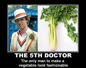 Strap Some Celery To a Jacket, And Boom, You're The Doctor