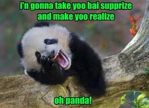 Muzical Bear Tawnts in teh Bamboo Forist