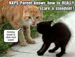 KKPS: Holiday break