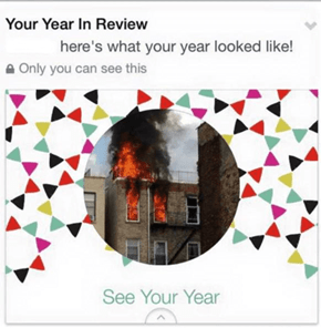 Your Year Was Literally on Fire