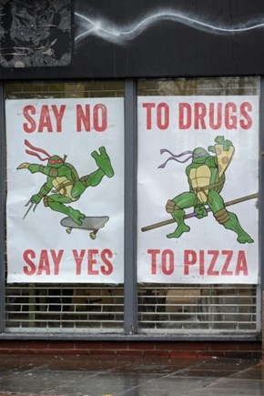Turtle Power is My Anti-Drug