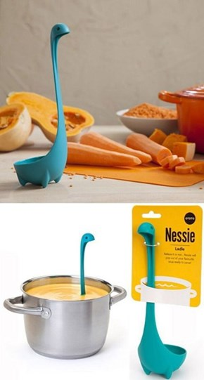 Nessie's Been Spotted In Your Kitchen
