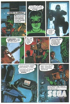 With the State of Gaming Today, Judge Dredd is Sort of Correct