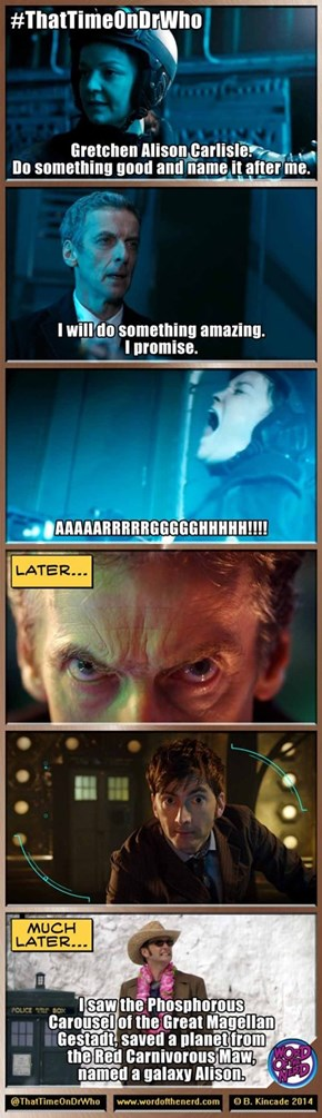 Timey-Wimey Promise Keeping