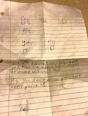 This 5th Grader Has Thought a Lot About Love