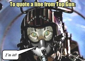 To quote a line from Top Gun: