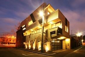 This Cool Home Incorporates Graffiti into its Design