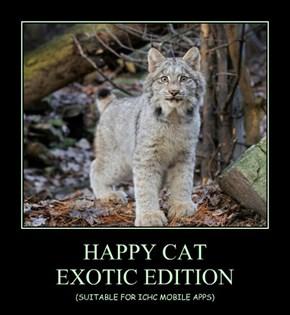 HAPPY CAT  EXOTIC EDITION