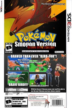 If Smogon Made a Pokémon Game