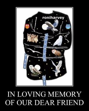 IN LOVING MEMORY OF OUR DEAR FRIEND