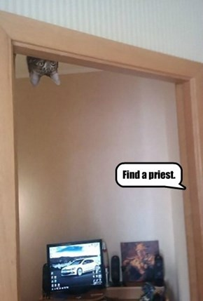 Find a priest.