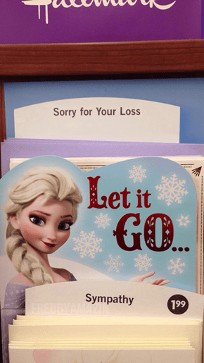 Hallmark is Hitting the Frozen Theme Pretty Hard