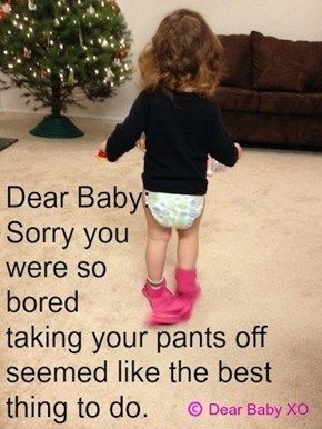 Apologies to a Baby From a Loving Mother