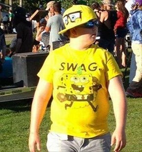 "The ""S"" in SWAG is For Spongebob?"