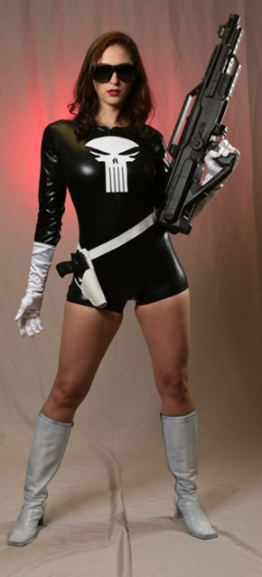 Lady Punisher's Out For Revenge
