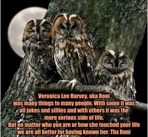Owl Be Seein' Ya Roni