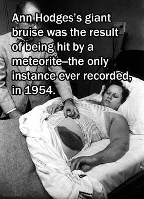 She Was Hit By a Meteorite