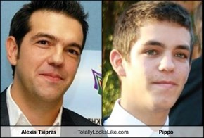 Alexis Tsipras Totally Looks Like Pippo