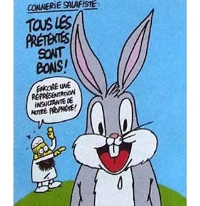 Mo luks like Bugs Bunny.  LOL...