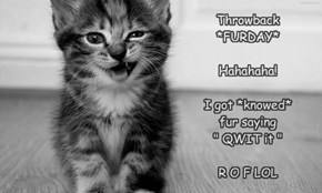 Furrgy's SKOOL days.. LOL