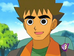 Brock With Rock Lee's Eyes