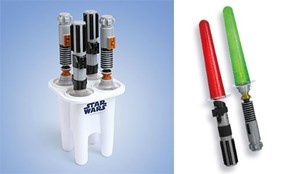 Lightsaber Popsicles The Sweet Side of The Dark Side