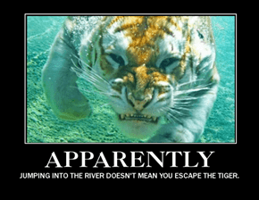 Jet Packs Are the Only Safe Way to Escape Tigers
