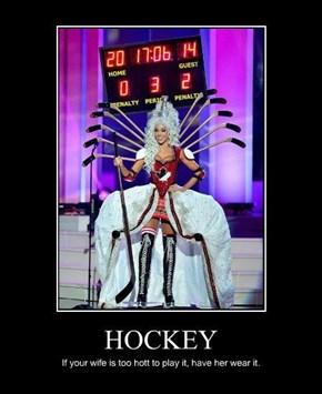 Canadians Love Their Hockey